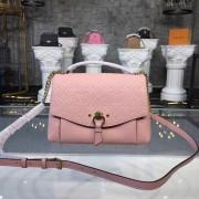 Louis Vuitton M43674 Blanche BB Monogram Empreinte Leather Rose Poudre