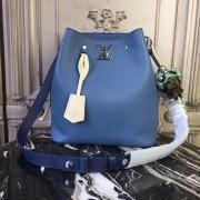 Louis Vuitton M51413 Lockme Bucket Lockme BLEU JEAN
