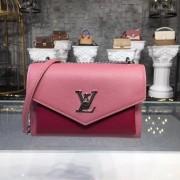 Louis Vuitton M51492 Mylockme BB Lockme Rose Boudoir Lie de Vin