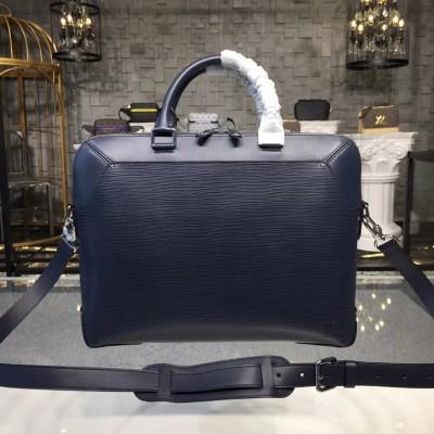 Louis Vuitton M51690 Oliver Briefcase Epi Leather Bleu Marine
