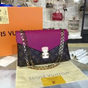Louis Vuitton M41223 Pallas Chain Monogram Grape
