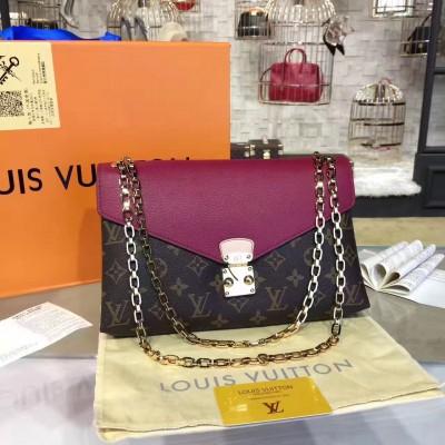Louis Vuitton M41223 Pallas Chain Monogram Rose Bruyere
