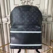 Louis Vuitton M43408 Apollo Backpack Monogram Eclipse Flash