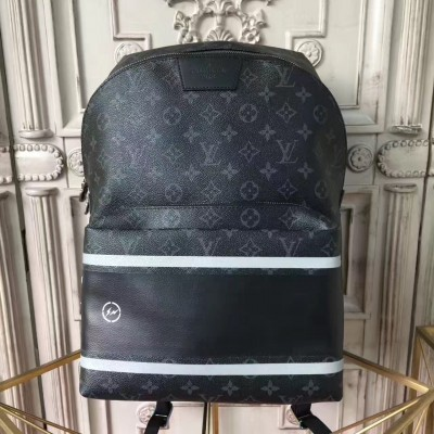 Louis Vuitton M43408 Apollo Backpack Monogram Eclipse Flash