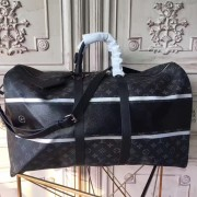Louis Vuitton M43413 KeepAll Bandoulière 45 Monogram Eclipse Flash