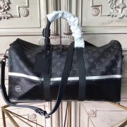 Louis Vuitton M43414 KeepAll Bandoulière 55 Monogram Eclipse Flash
