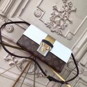 Louis Vuitton M54617 Column Clutch Monogram Canvas