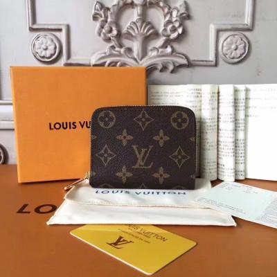 Louis Vuitton M60067 Zippy Coin Purse Monogram Canvas