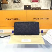 Louis Vuitton M60571 Zippy Wallet Monogram Empreinte Leather Noir