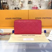 Louis Vuitton M60737 Zippy Wallet Monogram Empreinte Leather Cherry