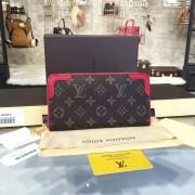 Louis Vuitton M61187 Zippy Wallet Retiro Monogram Canvas Cherry