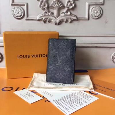 Louis Vuitton M61696 POCKET ORGANIZER Monogram Eclipse Canvas