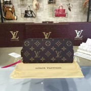 Louis Vuitton M62647 Clémence Wallet Monogram Canvas Freesia