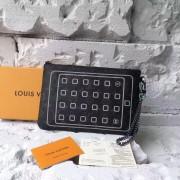 Louis Vuitton M64449 IPAD POUCH Monogram Eclipse Flash