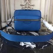 Louis Vuitton M33437 Outdoor Messenger PM Taiga Leather Cobalt