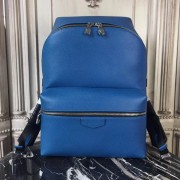 Louis Vuitton M33453 Apollo Backpack Taiga Leather Cobalt