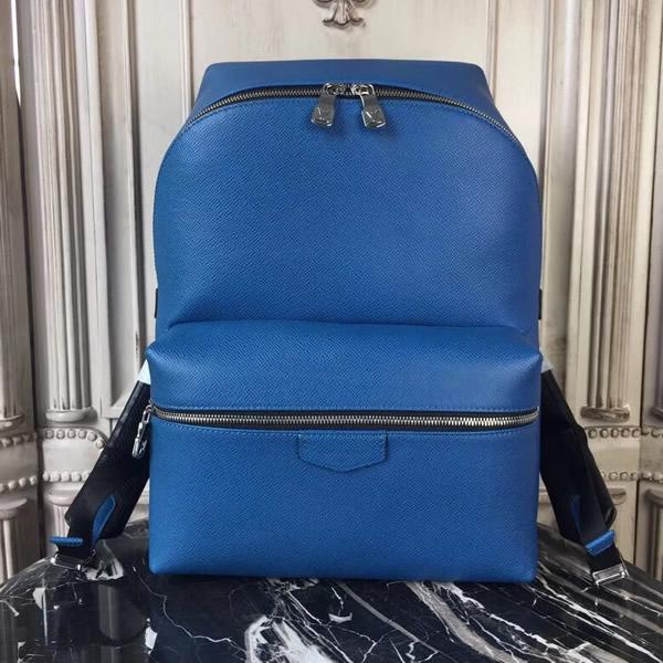 Louis Vuitton M33453 Apollo Backpack Taiga Leather Cobalt 555e305a3e979