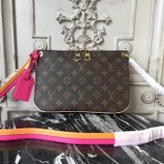 Louis Vuitton M44053 Lorette Monogram Hot Pink