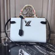 Louis Vuitton M53396 Twist Tote Epi Leather Blanc