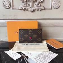 Louis Vuitton M60701 6 Key Holder Monogram Fuchsia