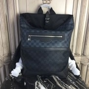 Louis Vuitton N40009 Matchpoint Backpack Damier Cobalt Canvas