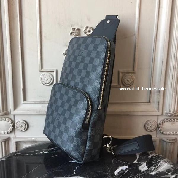 5bd009049 Louis Vuitton N41719 Avenue Sling Bag Damier Graphite Canvas