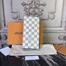 Louis Vuitton N63506 Brazza Wallet Damier Coastline