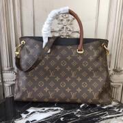 Louis Vuitton M41064 Pallas Monogram Canvas and Leather Handbag
