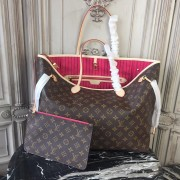 Louis Vuitton M41180 Neverfull GM Monogram Canvas Pivoine