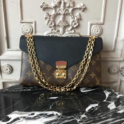 Louis Vuitton M41223 Pallas Chain Monogram Noir