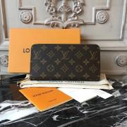 Louis Vuitton M41895 Zippy Wallet Monogram Canvas Fuchsia