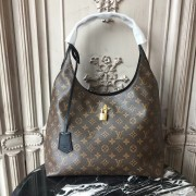Louis Vuitton M43545 Flower Hobo Monogram Canvas Noir