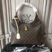 Louis Vuitton M43546 Flower Hobo Monogram Canvas Beige