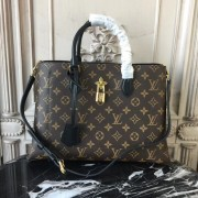 Louis Vuitton M43550 Flower Tote Monogram Canvas Noir