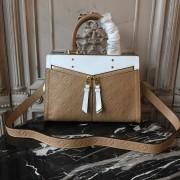 Louis Vuitton M43648 Sully PM Monogram Empreinte Leather Papyrus Creme