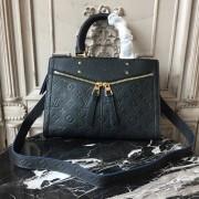 Louis Vuitton M54196 Sully PM Monogram Empreinte Leather Noir