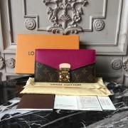Louis Vuitton M56241 Pallas Wallet Monogram Canvas Grape