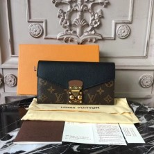 Louis Vuitton M58415 Pallas Wallet Monogram Canvas Noir