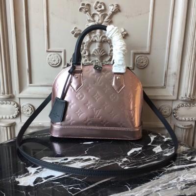 Louis Vuitton M90485 Alma BB Monogram Vernis Leather