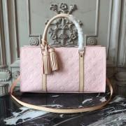Louis Vuitton M94398 Neo Triangle Monogram Vernis Leather Rose Ballerine