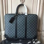 Louis Vuitton N41125 Porte-Documents Voyage Damier Graphite Canvas