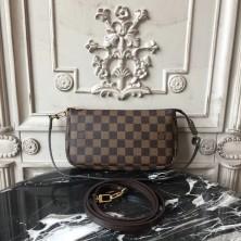 Louis Vuitton N41206 Pochette Accessoires Damier Ebene Canvas