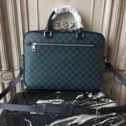 Louis Vuitton N41347 Porte-Documents Business Damier Cobalt Canvas