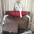 Louis Vuitton N41357 Neverfull GM Damier Ebene Canvas