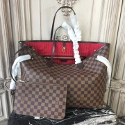 Louis Vuitton N41357 Neverfull GM Damier Ebene Canvas