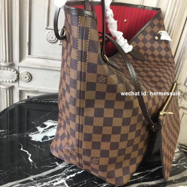 Louis Vuitton N41357 Neverfull GM Damier Ebene Canvas 731d5dca1a205