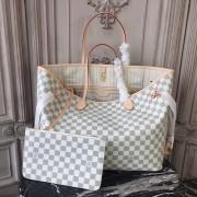 Louis Vuitton N41360 Neverfull GM Damier Azur Canvas Beige