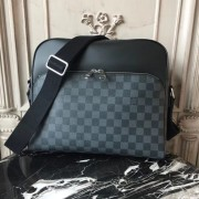 Louis Vuitton N41409 Dayton Reporter MM Damier Graphite Canvas
