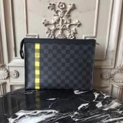 Louis Vuitton N60107 POCHETTE VOYAGE MM Damier Graphite Stripe