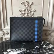 Louis Vuitton N64444 POCHETTE VOYAGE MM Damier Graphite Stripe